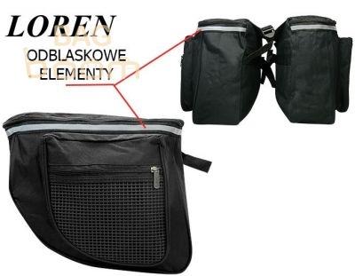 Сумка велосипедная Loren TR-T-201 BLACK