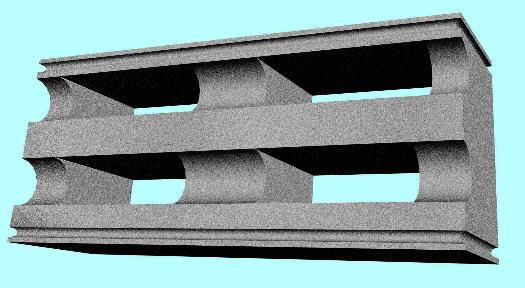 Buy Blocks polystyreneconcrete. Ordinary block timbering