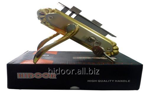 58 ET HIDOOR LOCK  R1 SN/GP   (20 шт. в ящике)
