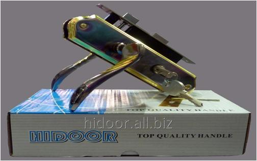 58 ET HIDOOR LOCK  R2 BN/GP   (20 шт. в ящике)