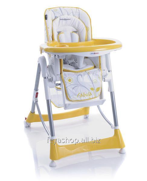 """Стільчик д/годування TM """"Baby Point"""" Fabula (05) жовтий"""