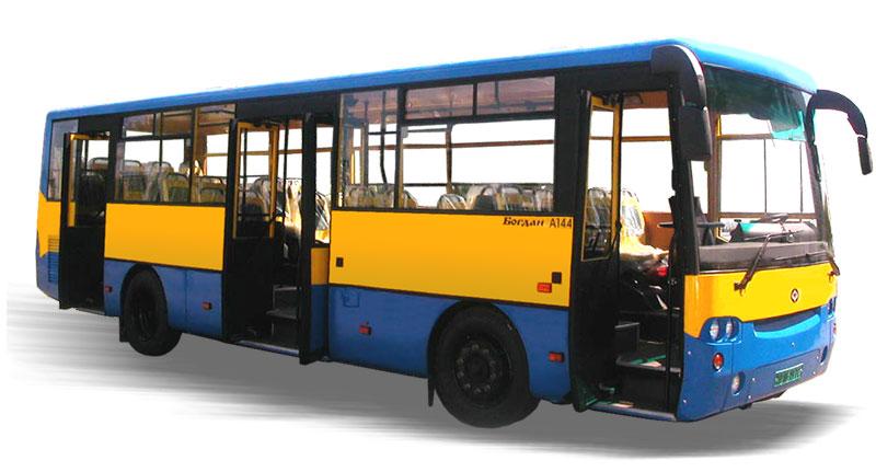 Автобус средний городской А-144 'Богдан'