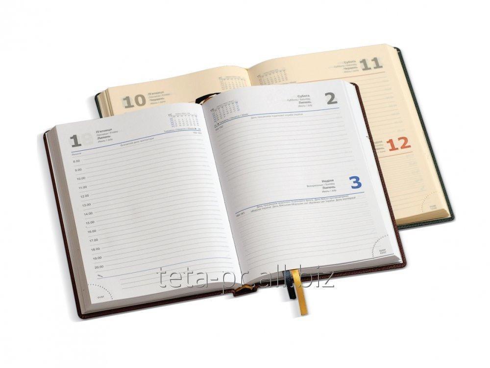 Ежедневник стандарт датированный на 2017 год