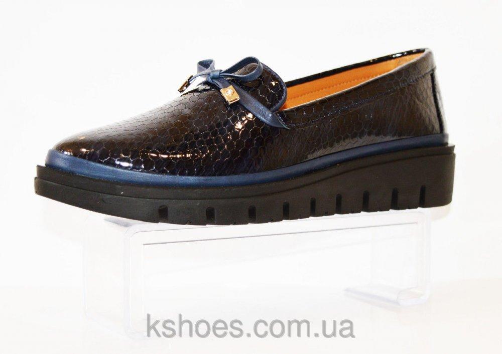 Купить Туфли синие на платформе Phany 440