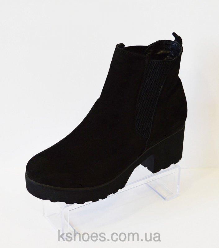 Купить Ботинки черные женские Selesta 4809