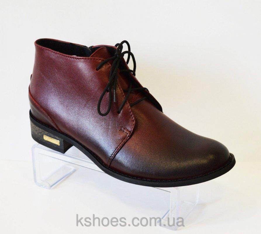 Купить Ботинки женские бордовые Vento 1114