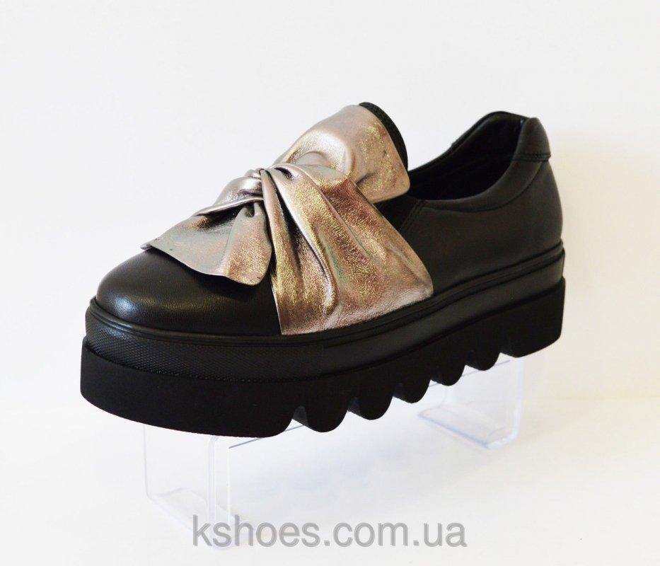 Купить Туфли женские с бантом Aquamarin 323
