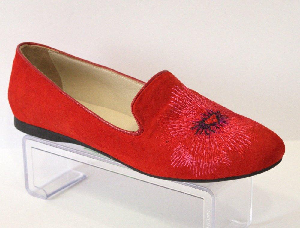 Купить Балетки женские красные La Via 314