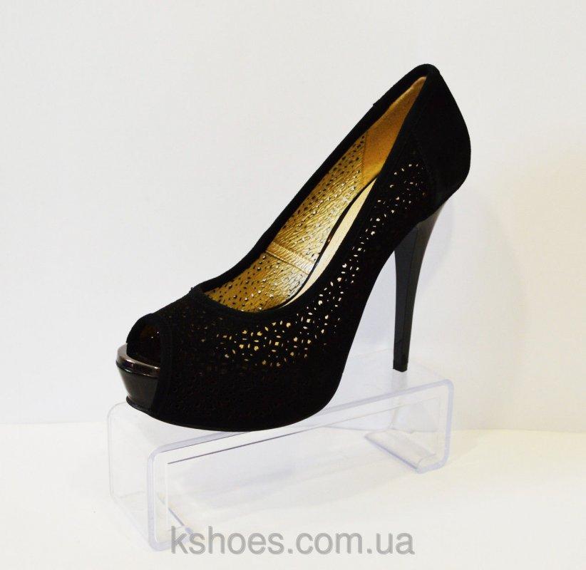 Купить Туфли женские замшевые Big Rope