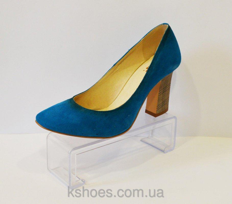 Купить Туфли женские синие A.J.F.