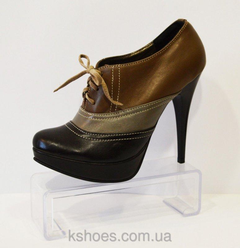 Купить Туфли кожаные на шпильке Kluchini 4175