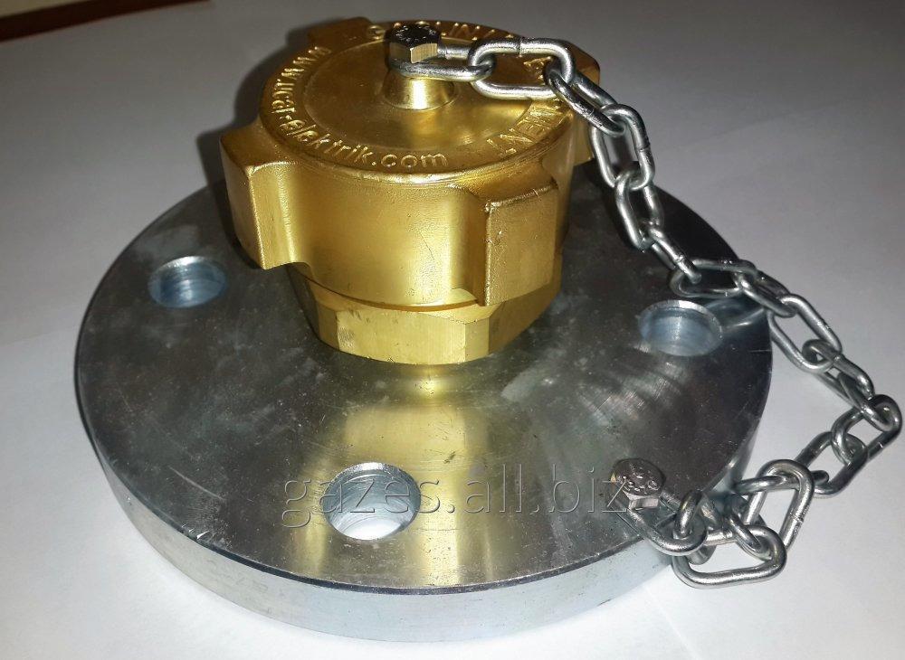 """Клапаны наполнения Gaslin 2 1/4"""" ACME DN50, 3 1/4"""" ACME DN80 для слива газовоза, налива автоцистерны, полуприцепа с пропан-бутаном, заправки АГЗС."""