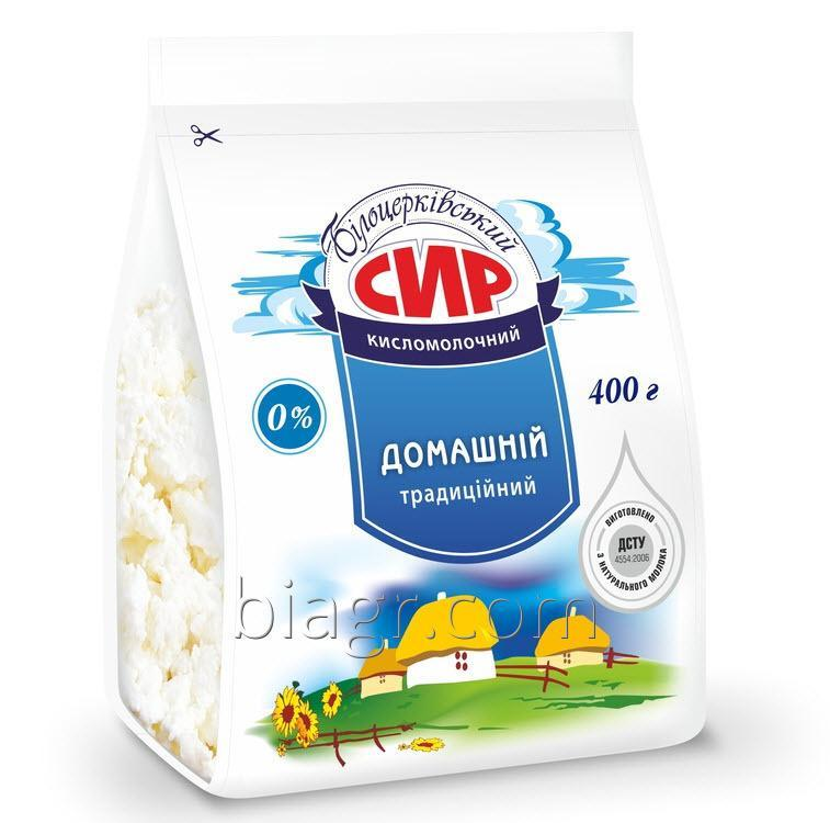Curd cheese nonfat, 400 g, packet