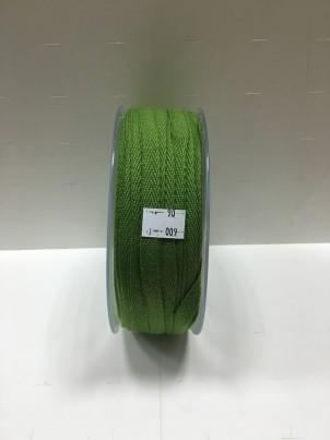Киперная лента  зеленая 10мм арт. 009