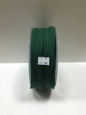 Киперная лента  темно зеленая, арт. 007