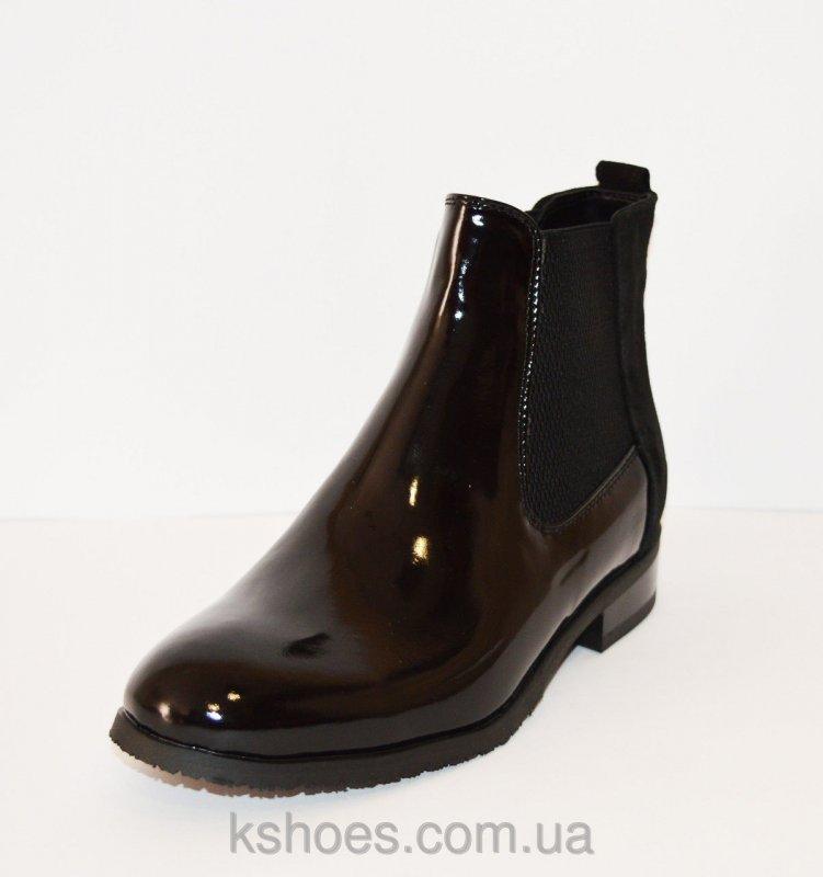 Купить Ботинки женские лакированные Kento