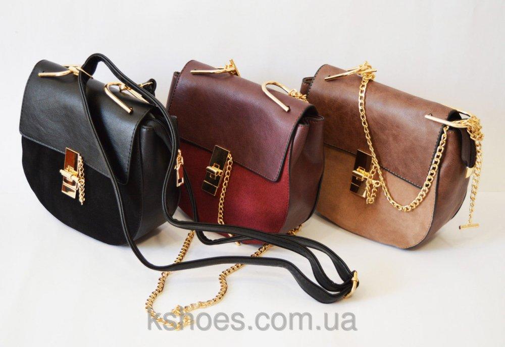 Купить Маленькая женская сумка черная 9101