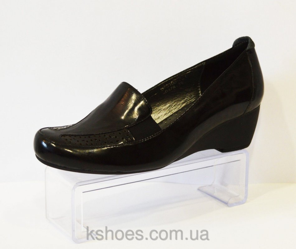 Купить Туфли черные на невысоком каблуке Gotti