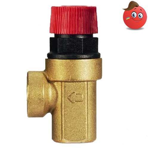 Buy Safety valve IVR 350 brass VV of Du 25, 2.5 bar