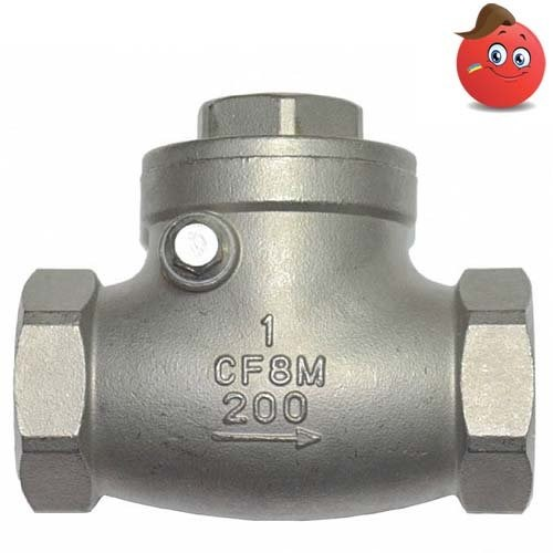 Buy Backpressure valve rotary IVR type 654 corrosion-proof AISI of 316 Du 50