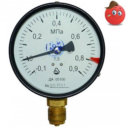 Buy Manovakuummetr ammoniac DA 05100-13M-NH3 (-100... +300 kPa) C. 1,5 M20x1,5