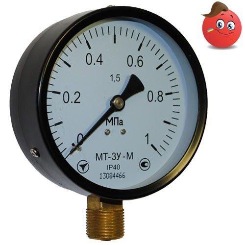 Buy Manovakuummetr MT-3U (-0,1... +1,5 MPas) C. 1,5 M20x1,5