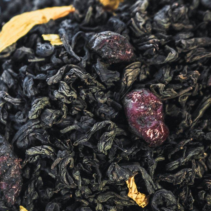 """Черный чай Susan-tea """"Вишня"""" 100г"""
