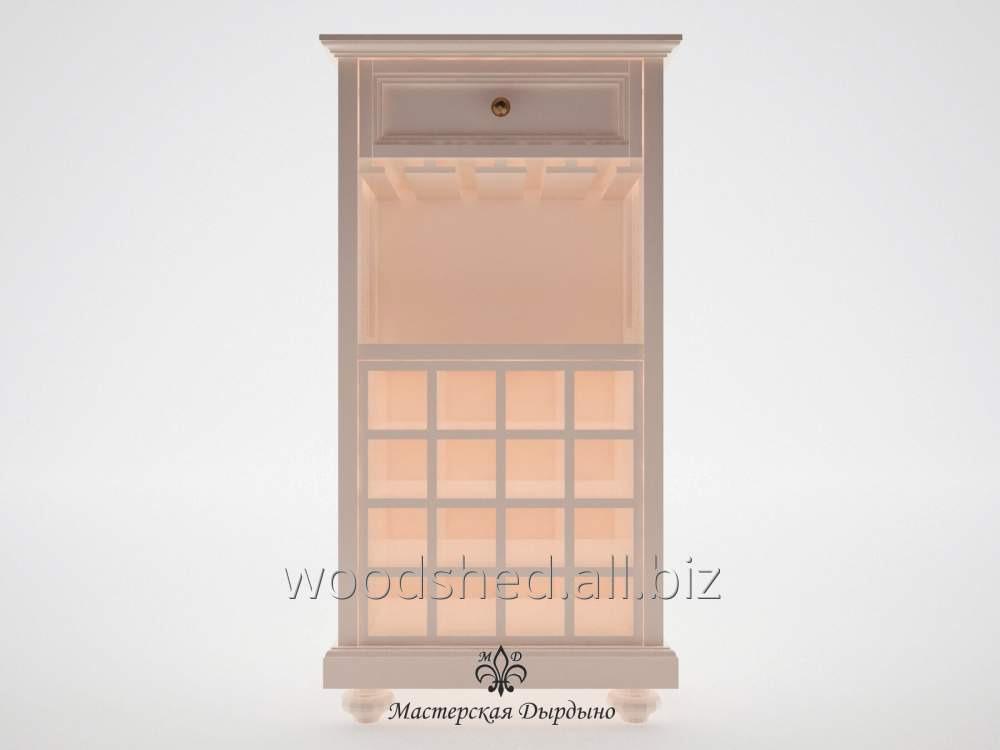 Винный шкаф для зала Прованс