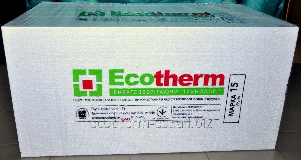 Expanded polystyrene of PSB-S 15 (EPS 30)
