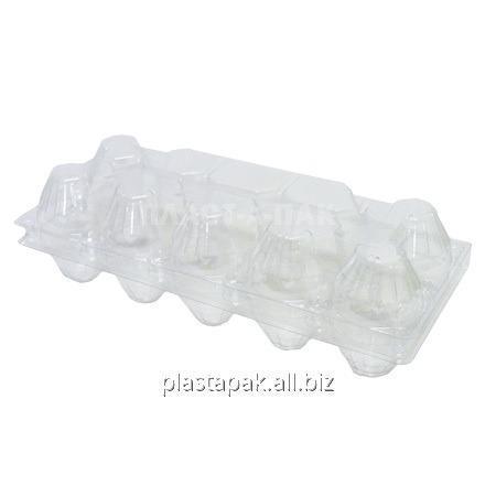 Упаковка для куриных яиц УК-10 прозрачная
