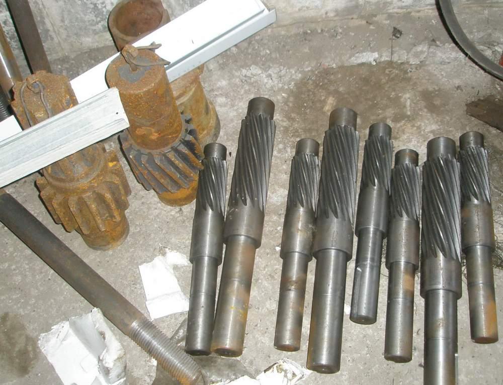 Изготовление валы-шестерни цилиндрические для редукторов