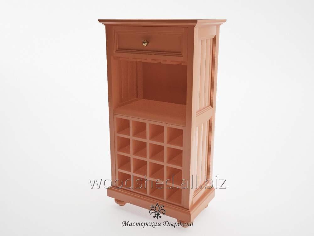 Винный шкаф для кабинета Прованс
