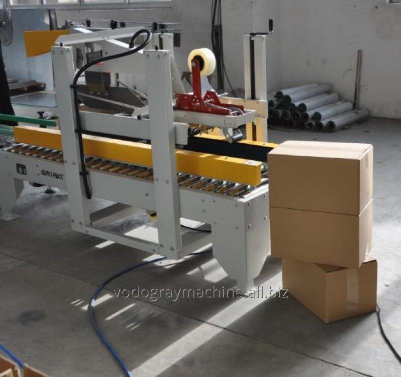 Напівавтомат для склеювання картонних коробок 10-15 уп./хв