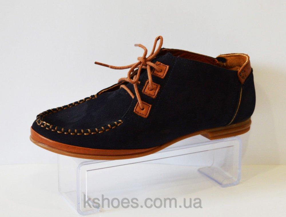 Купить Синие туфли на шнурке Molly Bessa A01