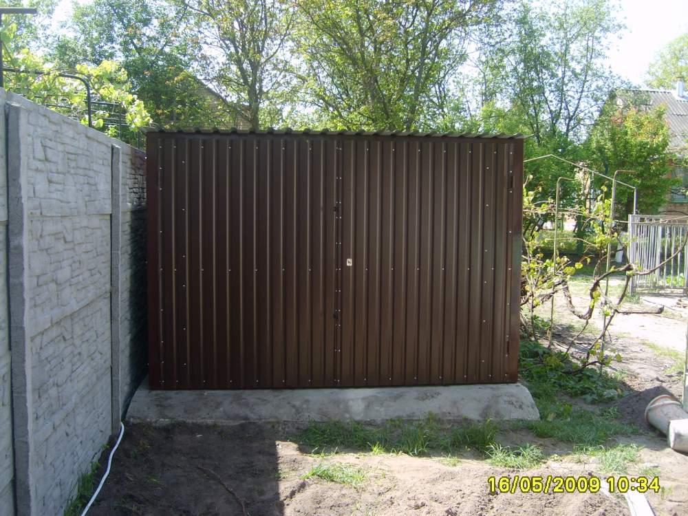 Новый гараж металлический купить в гараж омск купить в нефтяниках