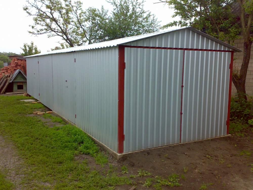 Купить гараж разборный металлический пермь габариты железных гаражей