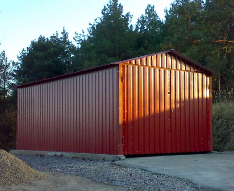 Заказать гараж из профнастила гаражи ракушки купить в можайске