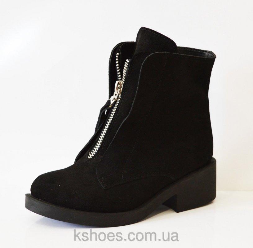 Купить Замшевые зимние женские ботинки Kluchini 3801