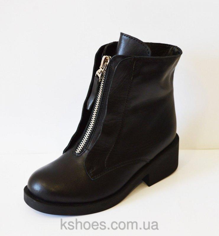 Купить Кожаные зимние женские ботинки Kluchini 3801