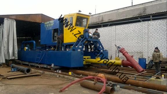 NSS 800/40-F dredge readiness of 60%