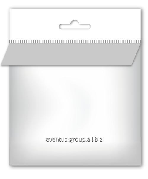 Пакет полипропиленовый с европодвесом и верхним клеевым клапаном