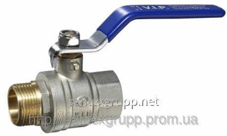 Кран шаровый 1 1/4 вн ручка (газ, вода)