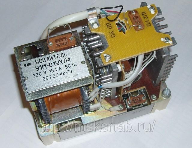 Усилители У1М-01, У1М-02