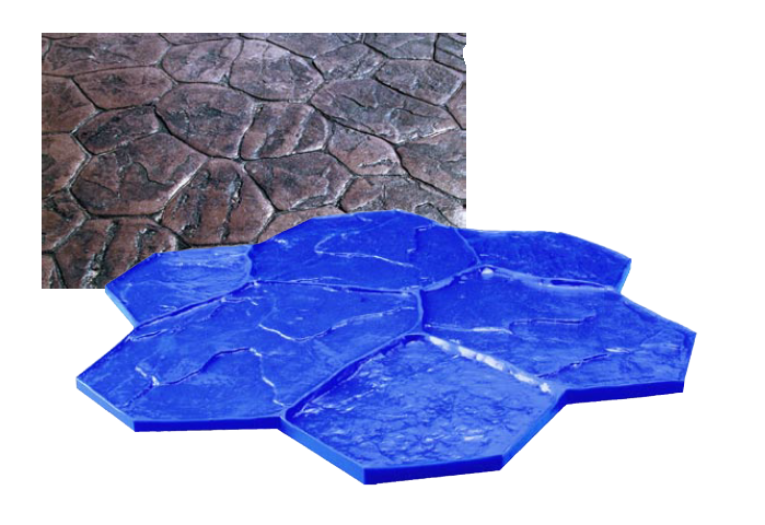 Форма для декоративного бетона своими руками