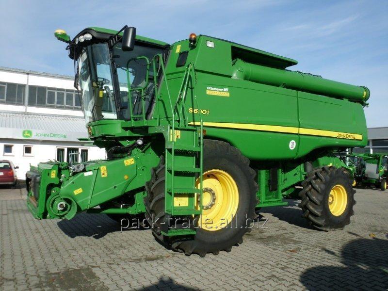 Купить Комбайн зерноуборочный John Deere S690 Hillmaster
