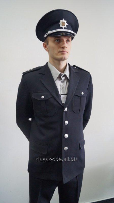 Uniform of the Police officer, Single-breasted coat uniform