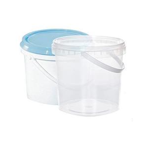 Ведро для пищевых продуктов прозрачное 3,3 л Полипропилен