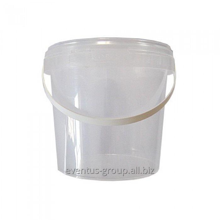 Ведро для пищевых продуктов прозрачное 5,5 л