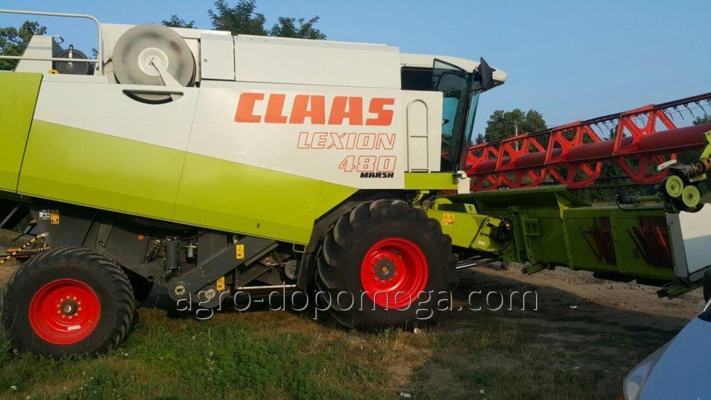 Комбайн бу Лексион CLAAS 480