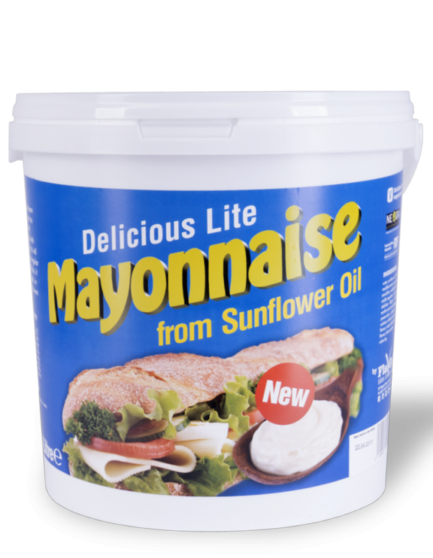 Mayonnaise Volume: 10L Type of packaging: Plastic bucket